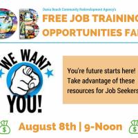 FREE JOB TRAINING OPPORTUNITIES FAIR