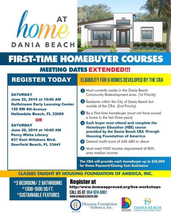 First-Time Homebuyer Program | Dania Beach CRA